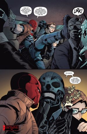 Red Hood & The Outlaws #1 DC Comics Rebirth 1