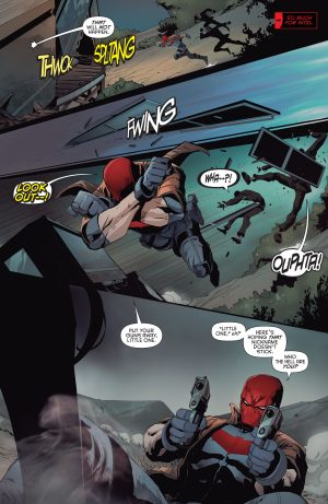 Red Hood & The Outlaws #1 DC Comics Rebirth 6