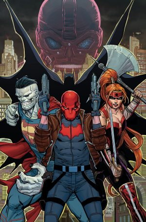 Red Hood and the Outlaws #1 DC Comics Rebirth spoilers preview 0