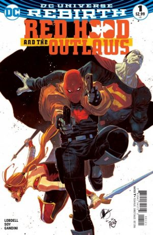 Red Hood and the Outlaws #1 DC Comics Rebirth spoilers preview 1