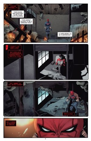 Red Hood and the Outlaws #1 spoilers preview D