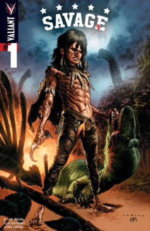 Savage #1 Valiant not Turok 1