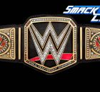 Smackdown Live's WWE World Championship belt final
