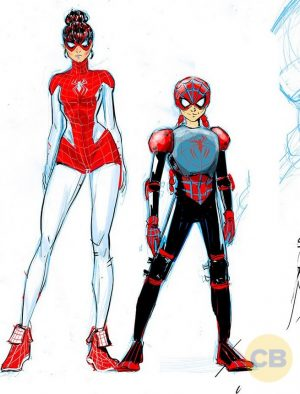 Spider-Man Renew Your Vows #1 costumes Mary Jane dos