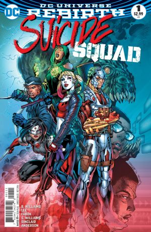 Suicide Squad #1 DC Comics Rebirth Spoilers Preview 1