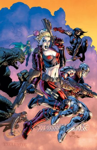 Suicide Squad #2 by Jim Lee