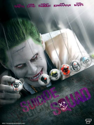 Suicide Squad movie Joker poster