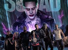 Suicide Squad movie poster banner