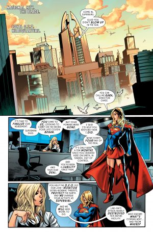 Supergirl Rebirth #1 DC Comics spoilers 3