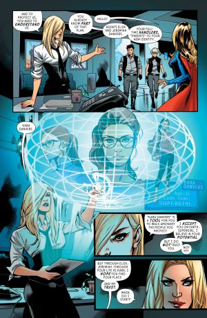 Supergirl Rebirth #1 DC Comics spoilers 4