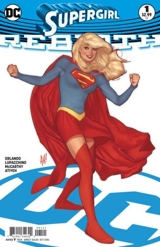 Supergirl Rebirth #1 spoilers preview 2