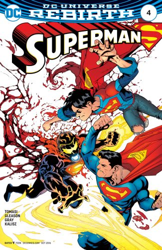 Superman #4 DC Comics Rebirth spoilers 1