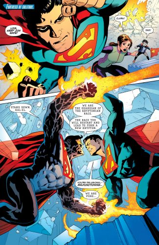 Superman #4 DC Comics Rebirth spoilers 3