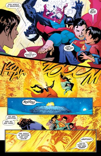 Superman #4 DC Comics Rebirth spoilers 7