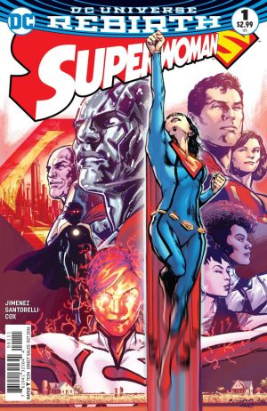 Superwoman #1 DC Comics Rebirth spoilers preview 1