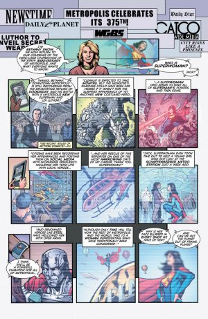 Superwoman #1 DC Comics Rebirth spoilers preview 5