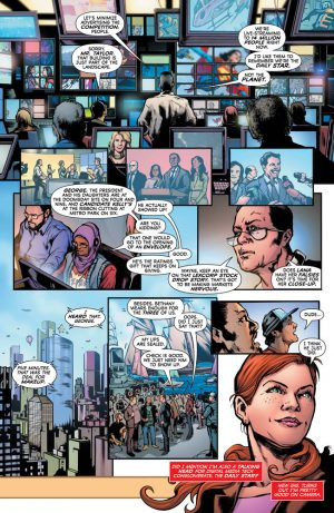 Superwoman #1 DC Comics Rebirth spoilers preview 6