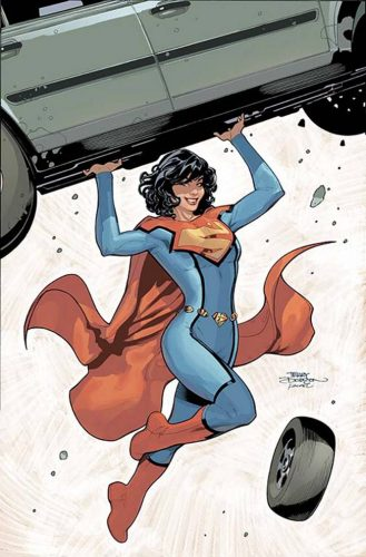 Superwoman #1 variant cover Lois Lane