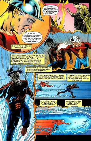 The Flash Golden Age Reverse Flash aka Rival 2 Dr Edward Clariss