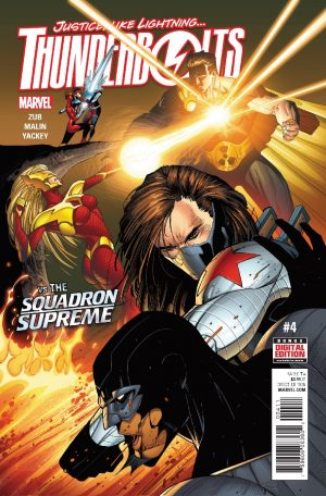 Thunderbolts #4 vs Squadron Supremen Marvel Comics 1