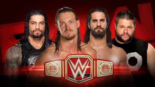 WWE Fatal 4-Way for the WWE Universal Championship Belt