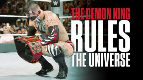 WWE Raw Finn Balor Demon King as first WWE Universal Champion