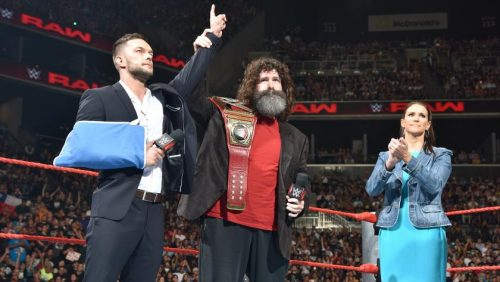 WWE Raw Finn Balor relinquishes first WWE Universal Championship