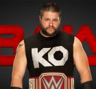 WWE Raw Kevin Owens banner WWE Universal Championship banner