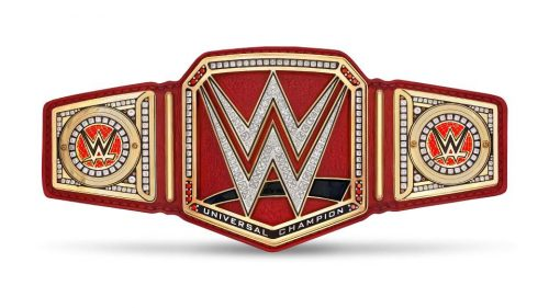 WWE Raw WWE Universal Championship Belt red 0