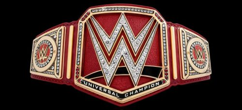 WWE Raw WWE Universal Championship Belt red 6