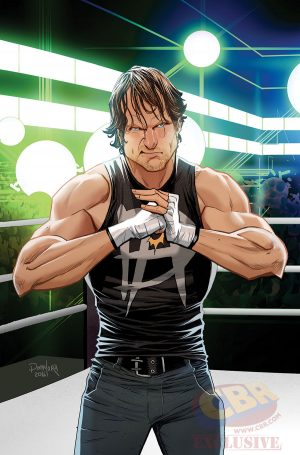 WWE Then Now Forever #1 Variant Cover The SHIELD 1 Dean Ambrose