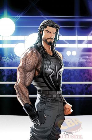 WWE Then Now Forever #1 Variant Cover The SHIELD 2 Roman Reigns