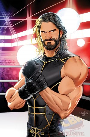 WWE Then Now Forever #1 Variant Cover The SHIELD 3 Seth Rollins