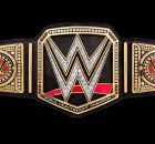 WWE World Championship belt banner Smackdown Live