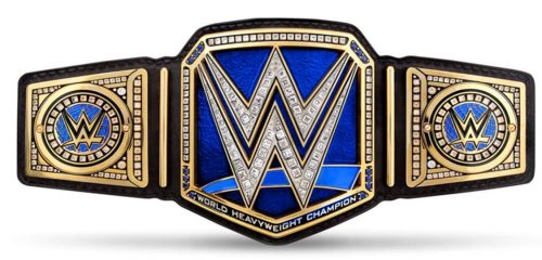 WWE World Heavyweight Championship Belt Strap SMACKDOWN LIVE
