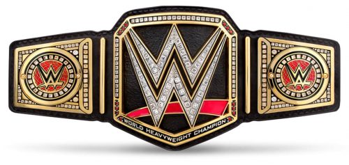 WWE World Heavyweight Championship Belt Strap current white