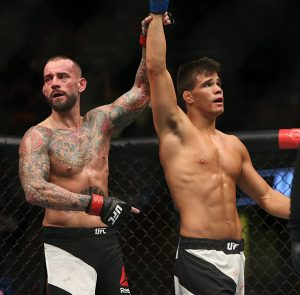 UFC 203 CM Punk vs Mickey Gall post match