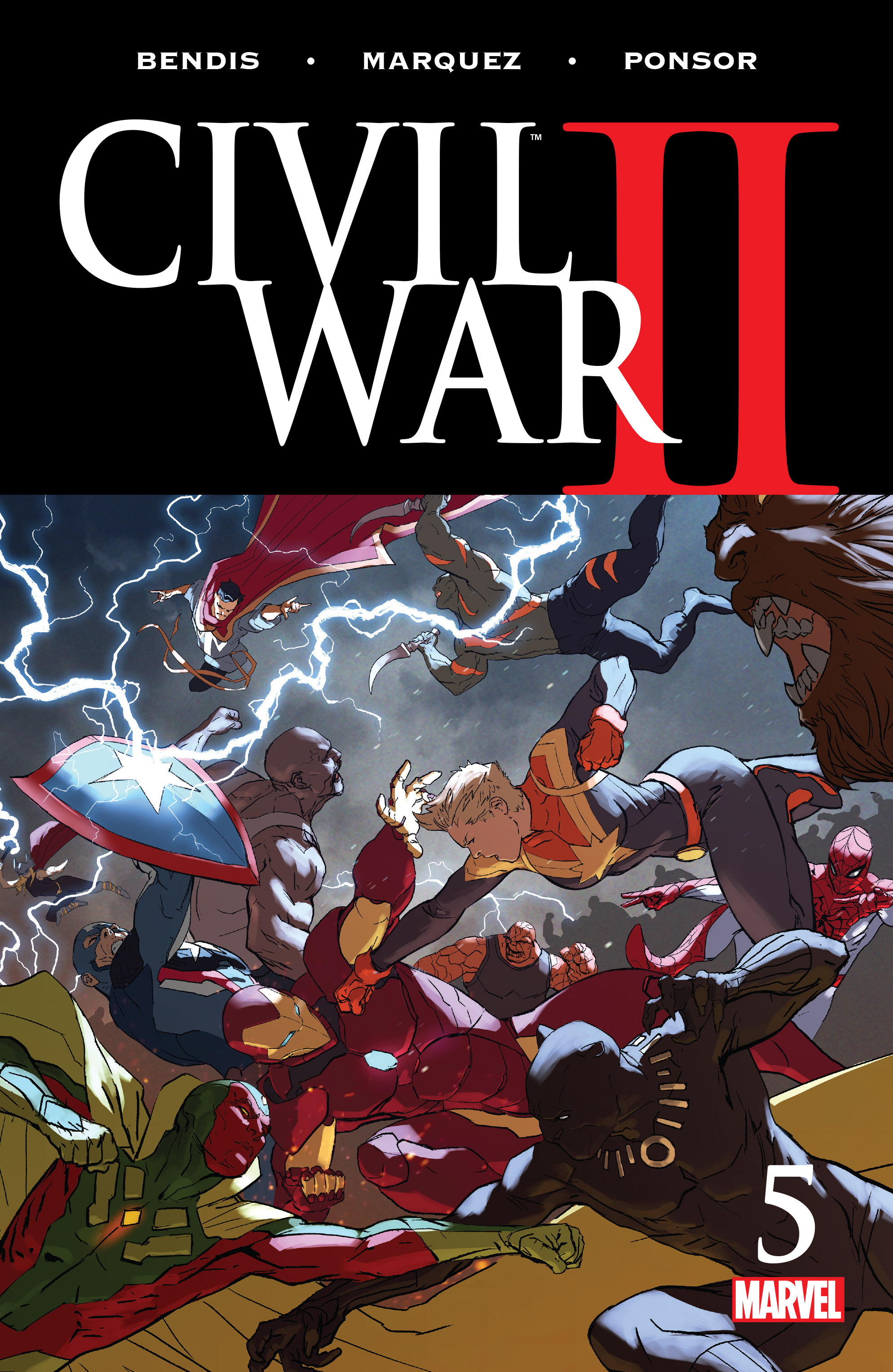 Marvel Comics Civil War Ii 5 Spoilers Amp Review Miles