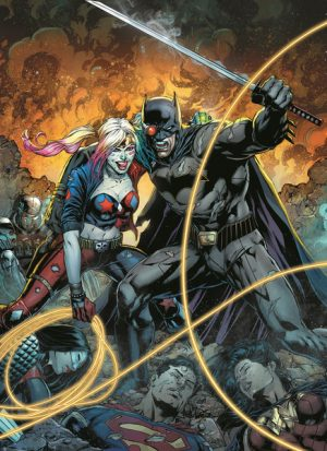 Justice League vs Suicide Squad #1 mini-series A