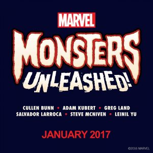 Monsters United Marvel MU 2017
