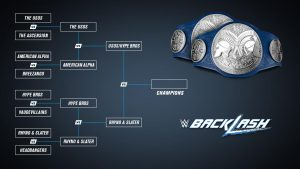 New graphic WWE Smackdown tag team tournament