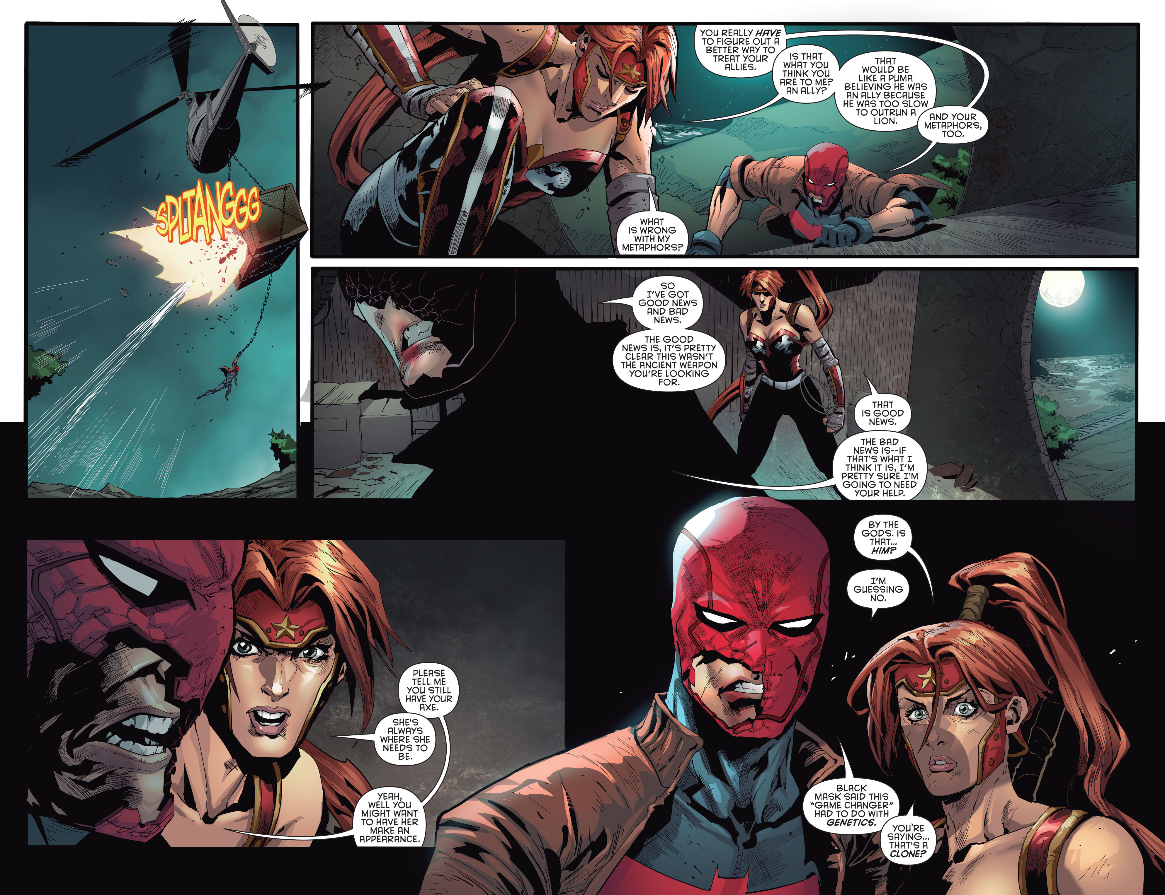 Dc comics rebirth spoilers review red hood the outlaws 2 red hood and the outlaws 2 bizarro superman sciox Images