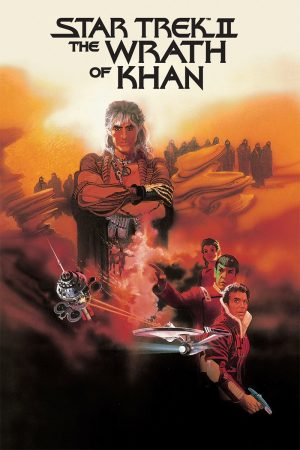 Star Trek 1982 Wrath of Khan poster