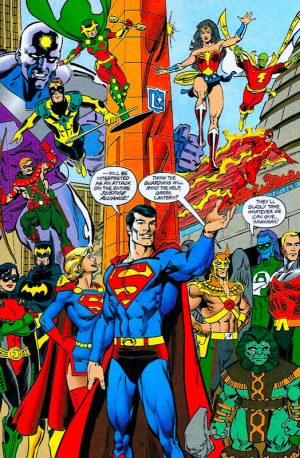Superman 2999 and the justice alliance