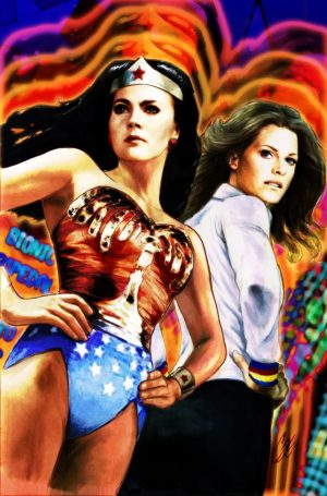 Wonder Woman 77 meets Bionic Woman #1A