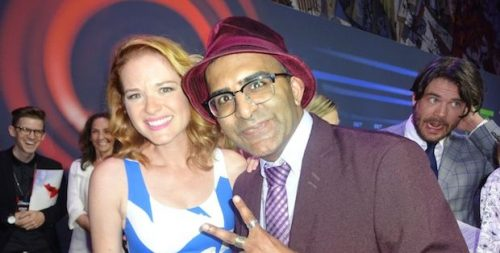 Murtz On The Scene Exclusive Interview With Greys Anatomys Sarah