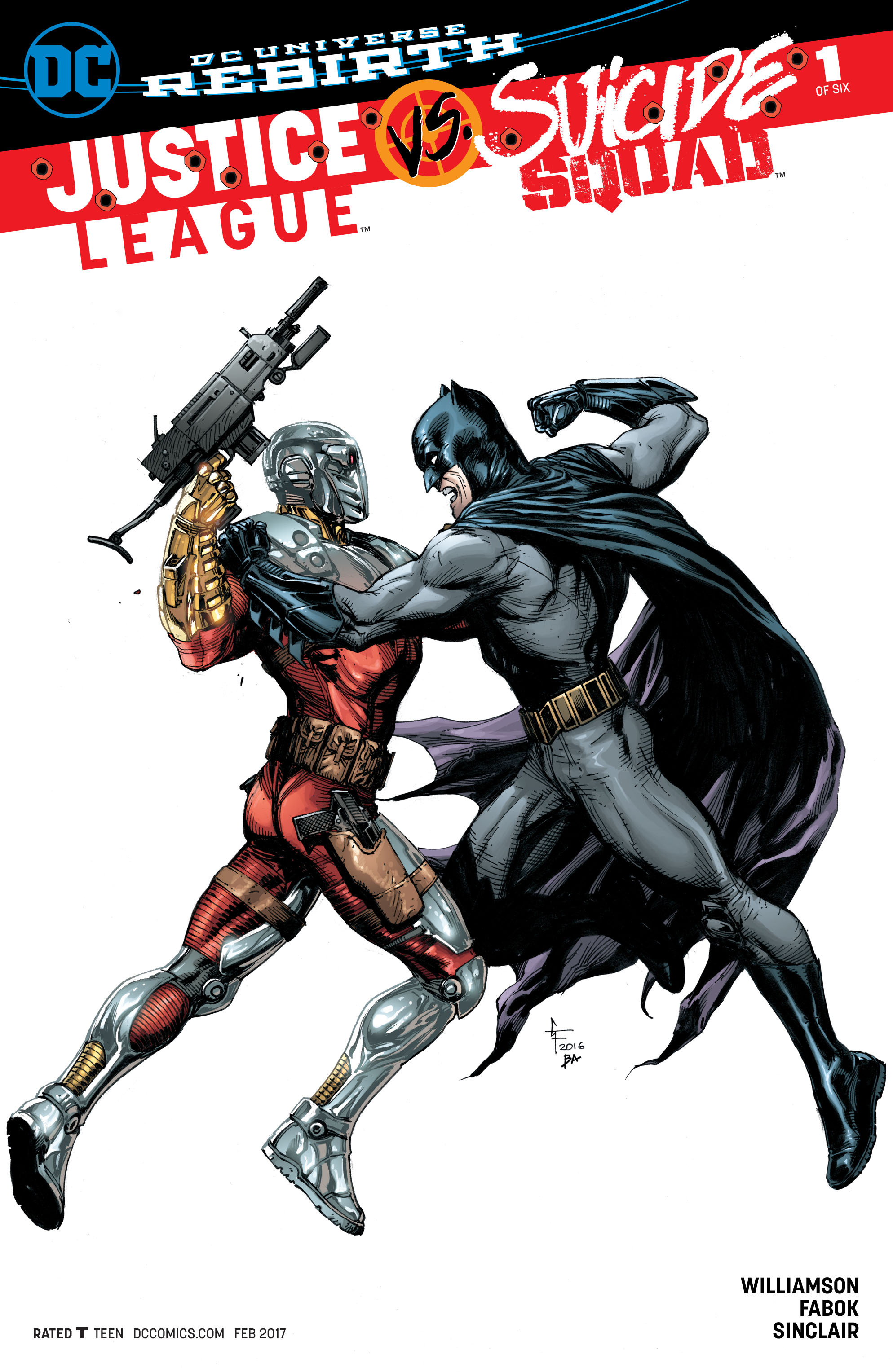 Justice League vs Suicide Squad 1 all three Witter variants