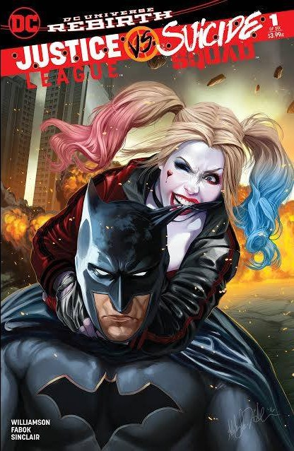 SUICIDE SQUAD # 18 : NEAR MINT : JULY 2017 : DC COMICS {COMIC BOOKS}