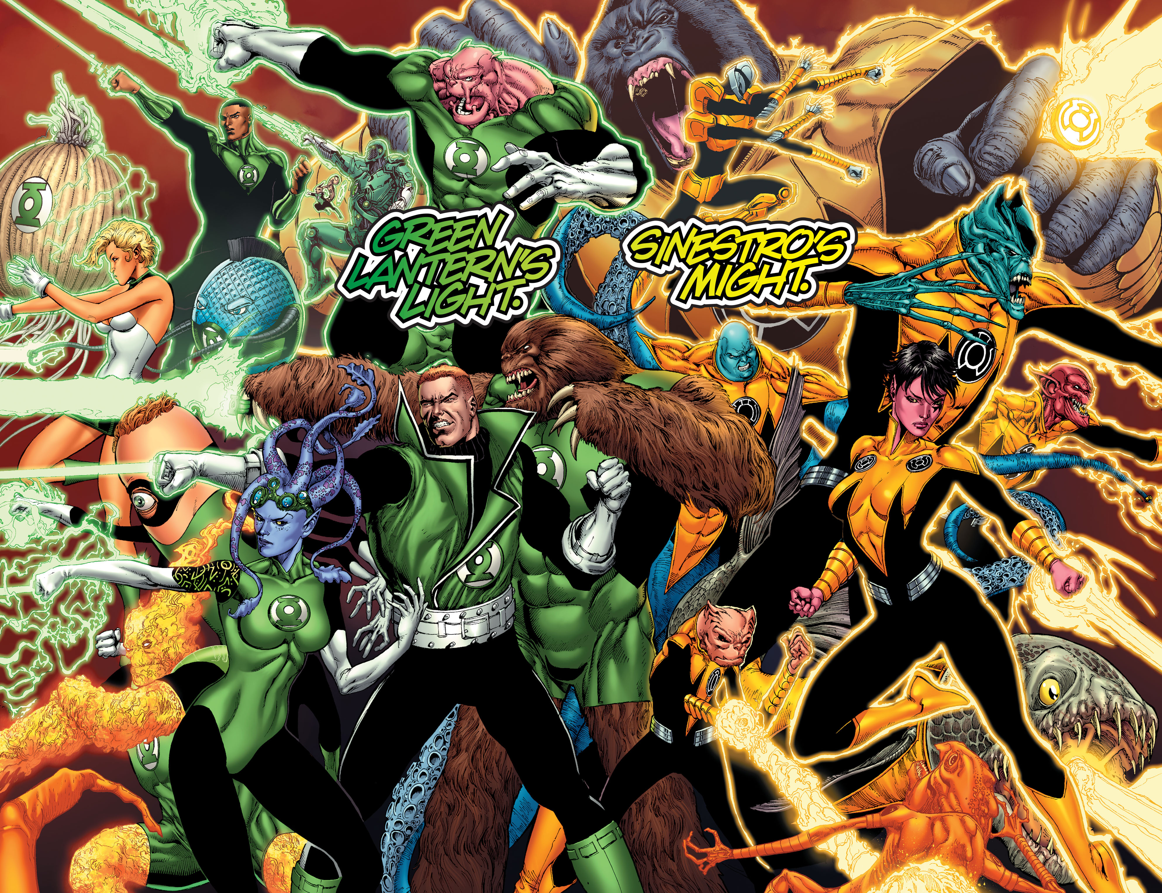 Warner Bros.' GREEN LANTERN CORPS Will Be 'LETHAL WEAPON in Space'