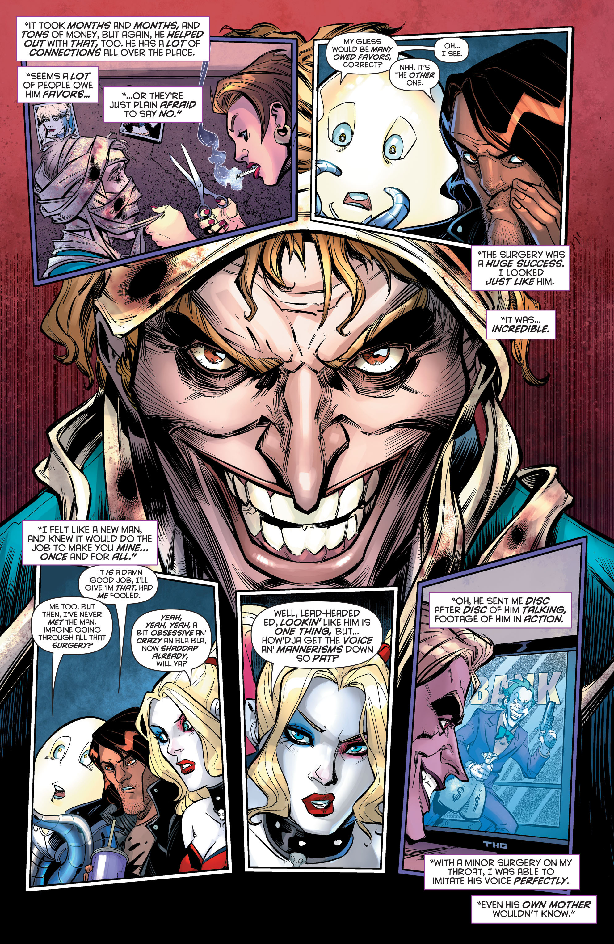 Dc Comics Rebirth Spoilers Dont Be Duped Harley Quinn 13 Has 4th